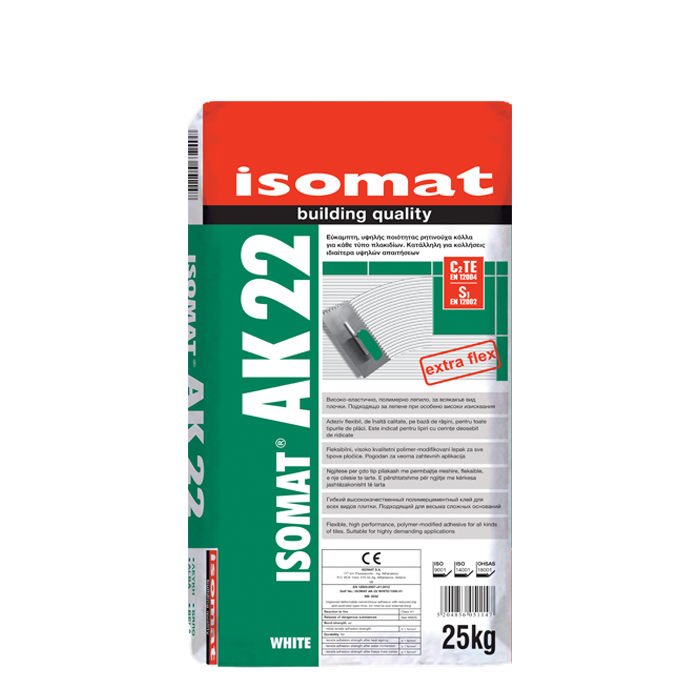 ISOMAT AK 22 WHITE 25 kgB